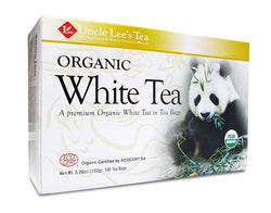 Uncle Lee's Legends of China Organic White Tea (1x100 Tea Bags)