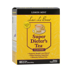 Laci Le Beau Super Dieter's Tea Lemon Mint (1x60 Tea Bags)