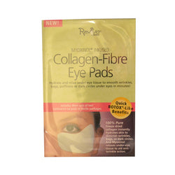 Reviva Labs Collagen Fiber Contoured Eye Pads (6x3 Pair)