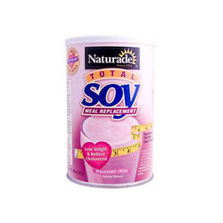 Naturade Total Soy Meal Replacement Strawberry Creme 17.88 Oz