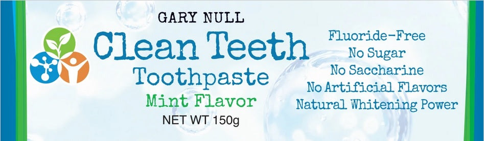 Gary Null's Clean Teeth Toothpaste