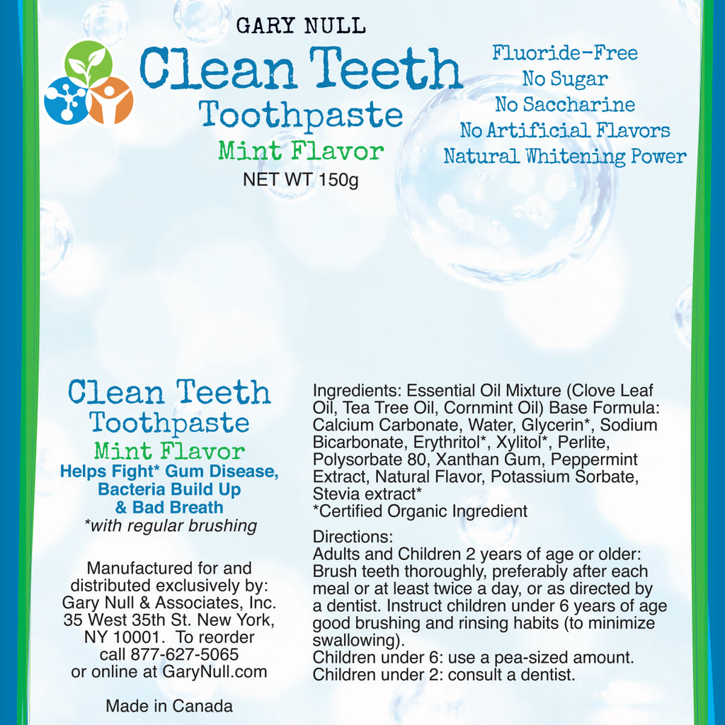 Clean Teeth Toothpaste