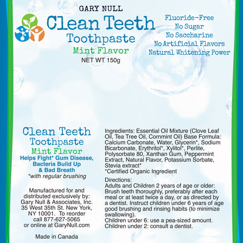 Clean Teeth Toothpaste, 5.3 oz (150 g)