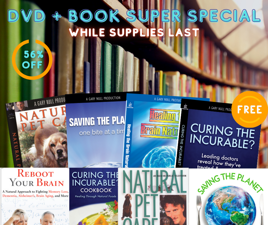 Book & DVD SUPER SPECIAL: 4 Free DvDs!
