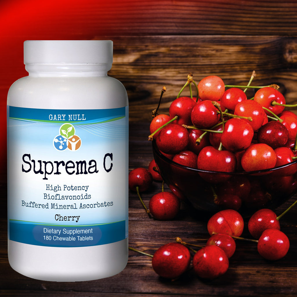 Vitamin C Immune Boost -Suprema C Cherry Chewables, 180 Tablets