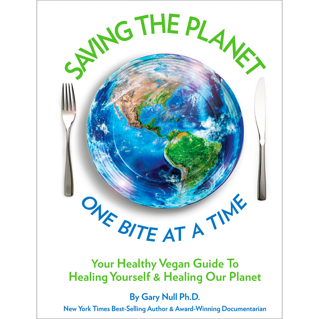 Saving The Planet - One Bite At A Time (New Book)