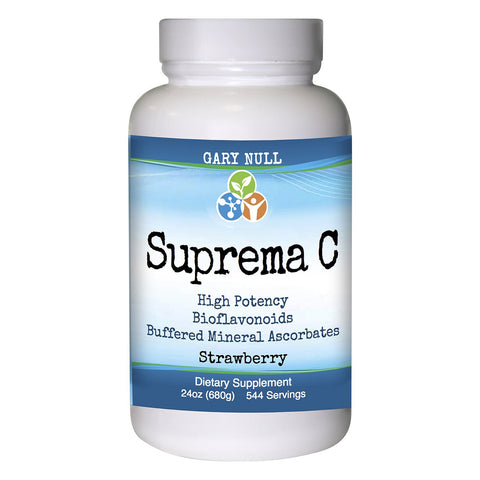Vitamin C Supplement - Suprema C Strawberry Powder, 24 oz