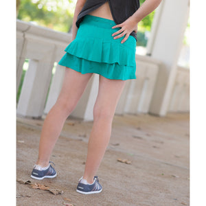 Young Adult Monarch Skirt - Seamist