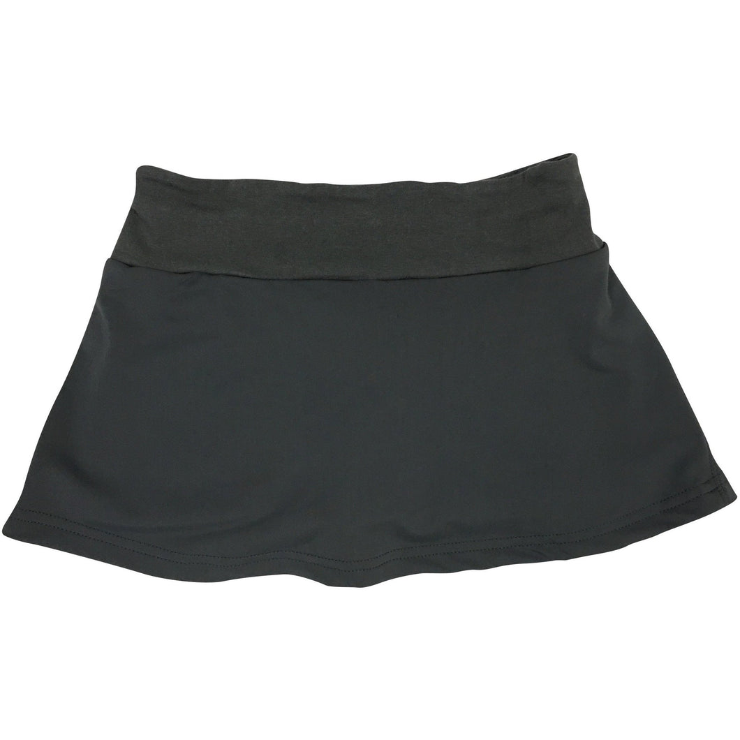 Young Adult Monarch Skirt - Dark Gray