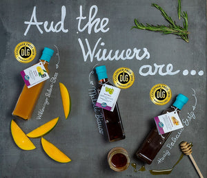 3 DLG Gold Medals 2019 for our Vinegar Specialties!
