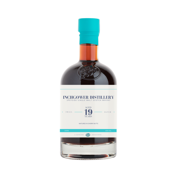 Inchgower Distillery, Speyside Single Malt Scotch Whisky, Aged 19 Years