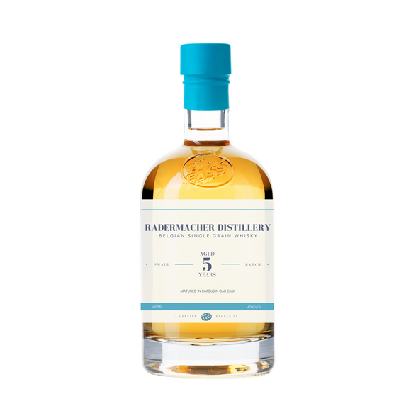 Radermacher Distillery, Belgian Single Grain Whisky, Aged 5 Years