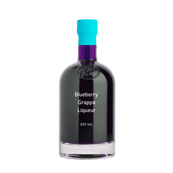 Blueberry Liqueur with Grappa
