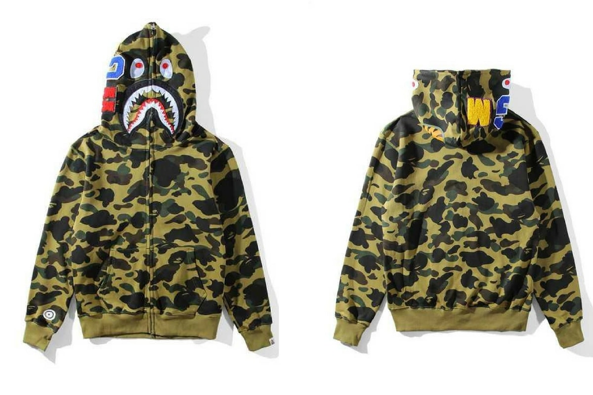 2e73fb887437 Bape Hoodie - A Bathing Ape Camo Hoodie FREE 2 Day Delivery - Suwult LLC