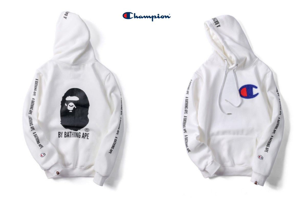 540373c7d372 A bathing ape college hoodie for sale - Free 2 days shipping ...