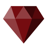 red diamond graphic