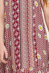 Tribal Floral Tank Dress