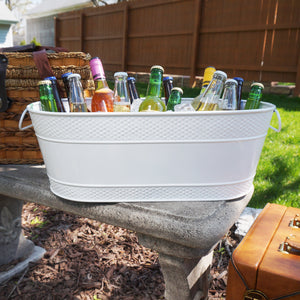 BREKX Colt White Oval Beverage Bucket
