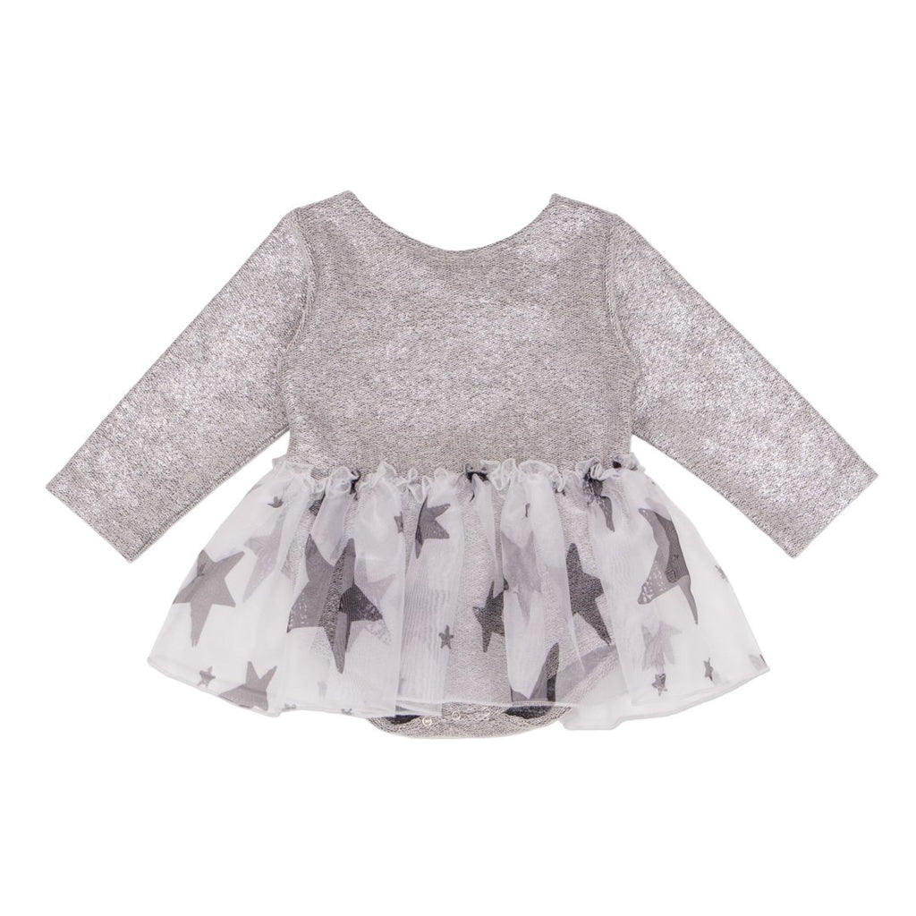 Perfect bodysuit dress for baby girls is ideal for the holidays or a special occasion by NoŽ & Zo'