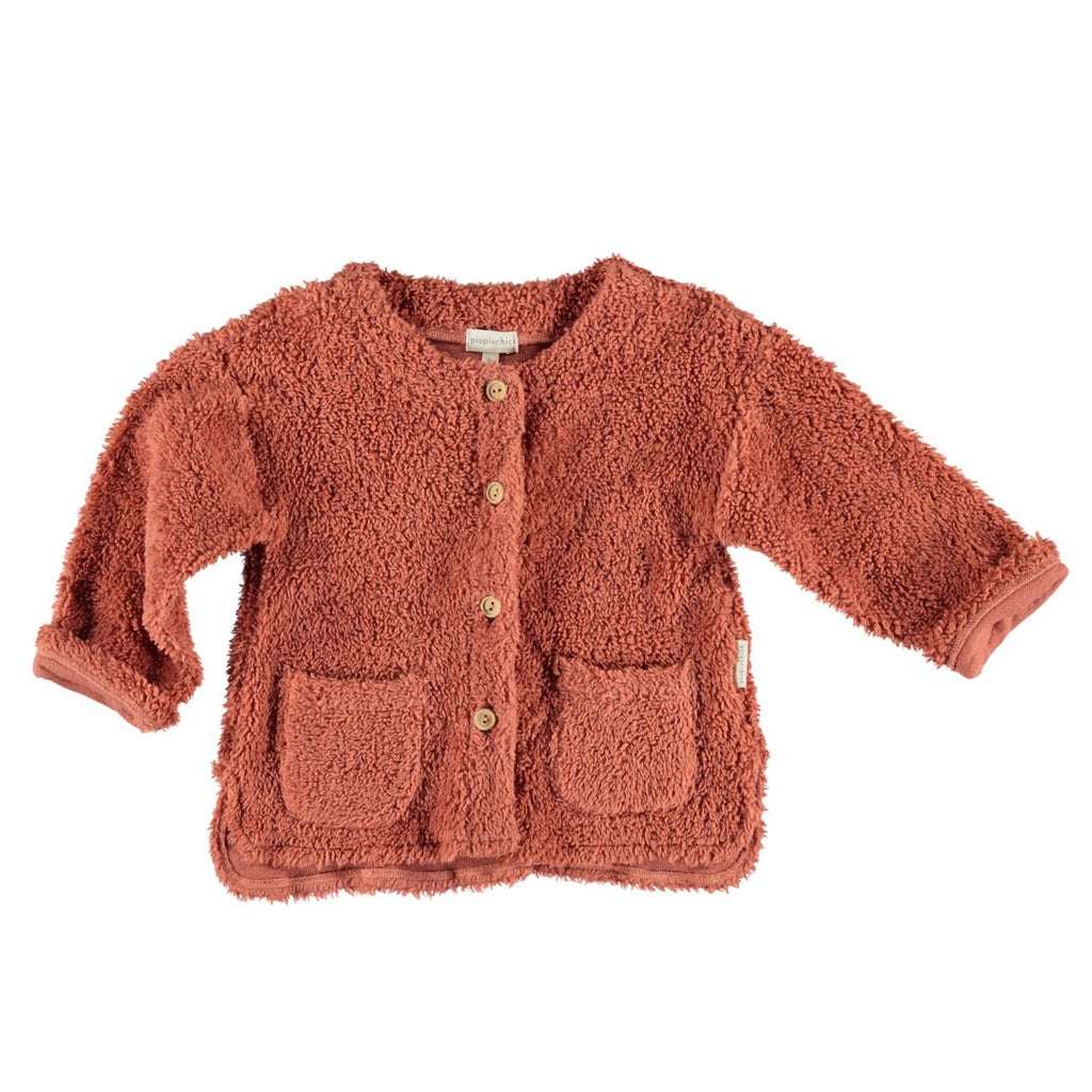 Brick Sheep Coat Organic Cotton