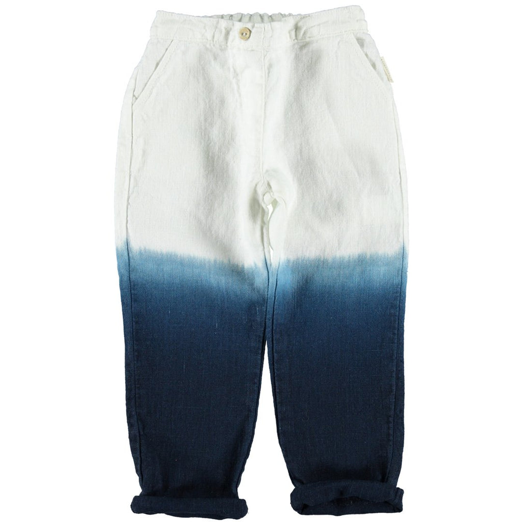 Bleached trousers for kids with a relaxed fit by Piupiuchick