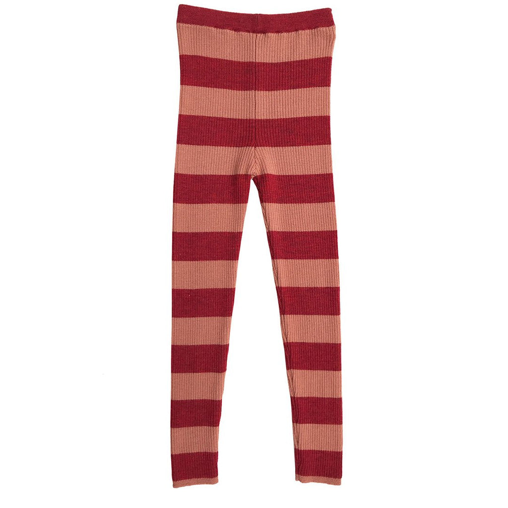 Soft and stretchy skinny legs by Mabli in rosewood and madder are a perfect choice for girls.