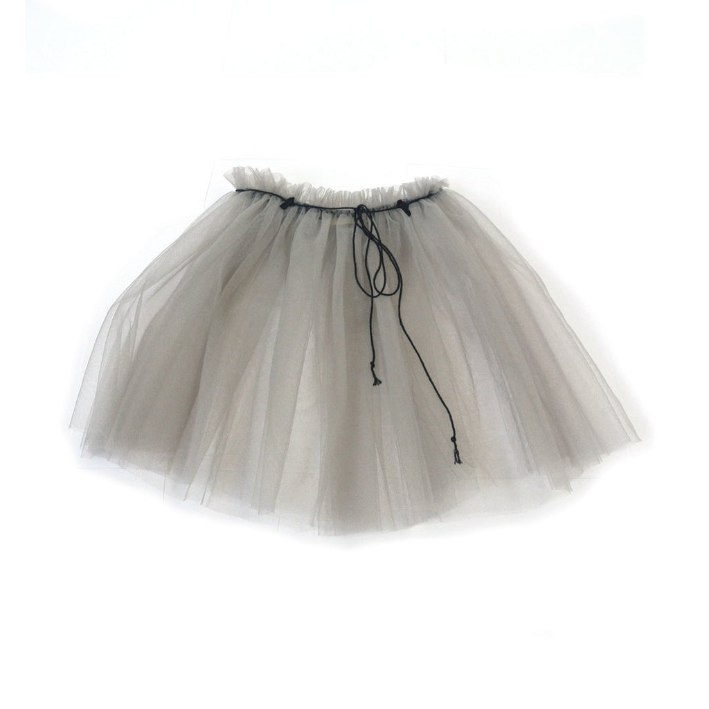 baby girl gray tutu with light chord by Treehouse