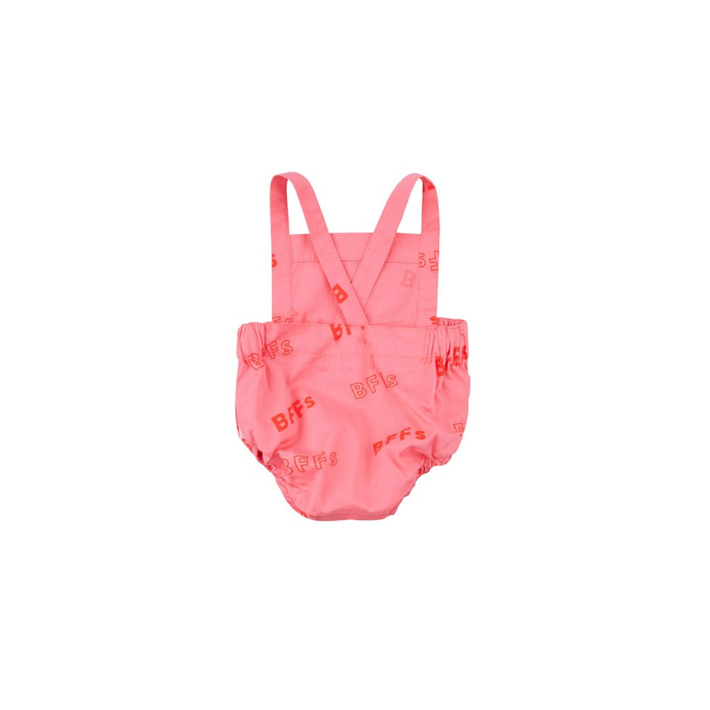 Bff Candy Pink Baby Romper