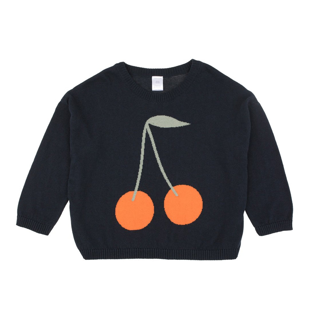 Cherries Unisex Knit Sweater