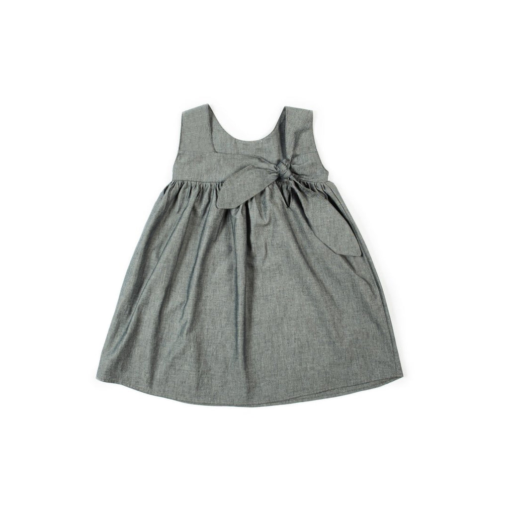 Organic Cotton Girls Summer Sleeveless Dress
