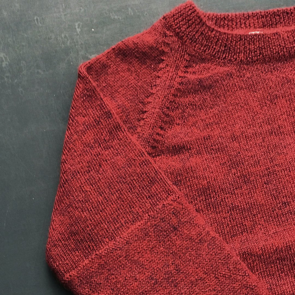 Warm madder jumper by Mabli, great for both girls and boys and matches the rest of the collection.