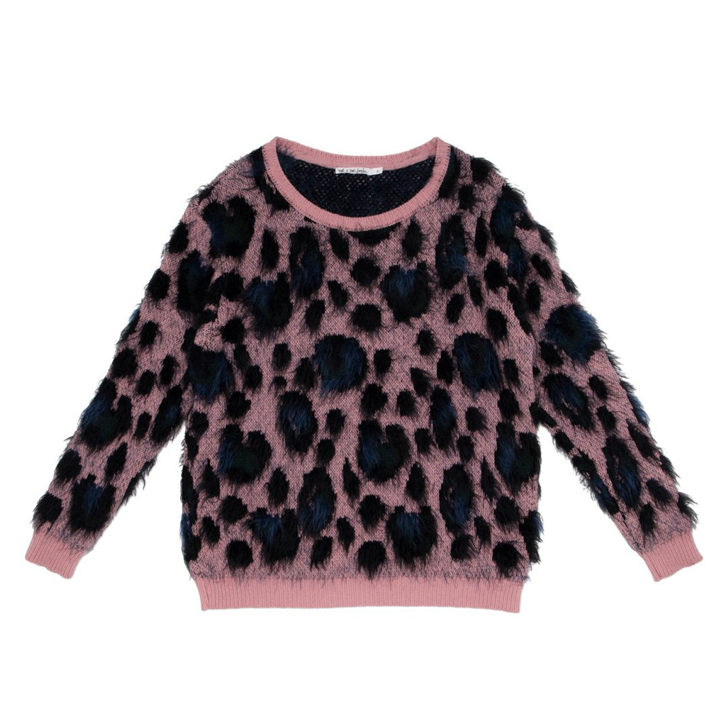 Pink girls sweater by NoŽ & Zo' hits all the right spots