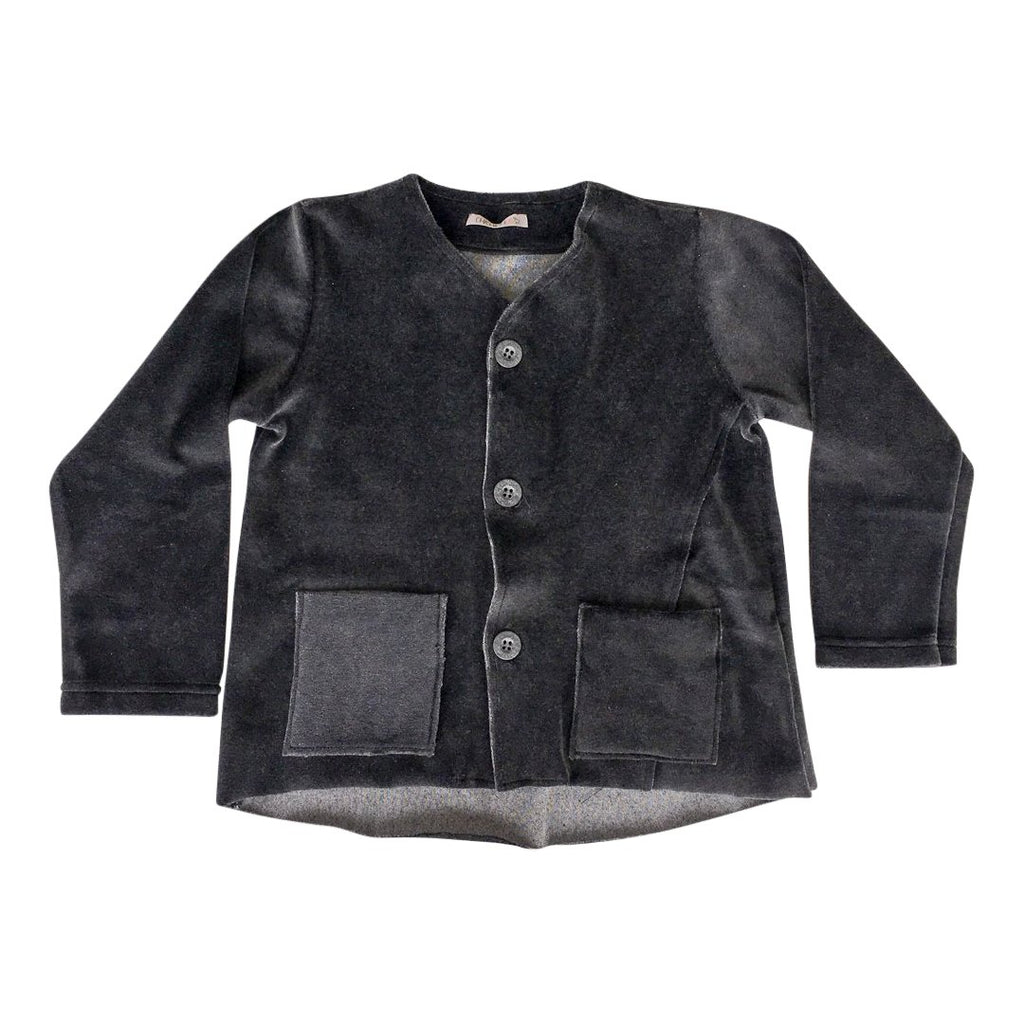 Boys velvet cardigan by Chichirikids