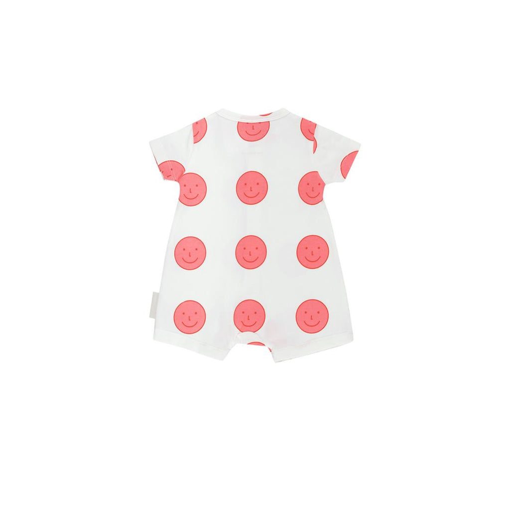 Happy Face Relaxed Baby Playsuit