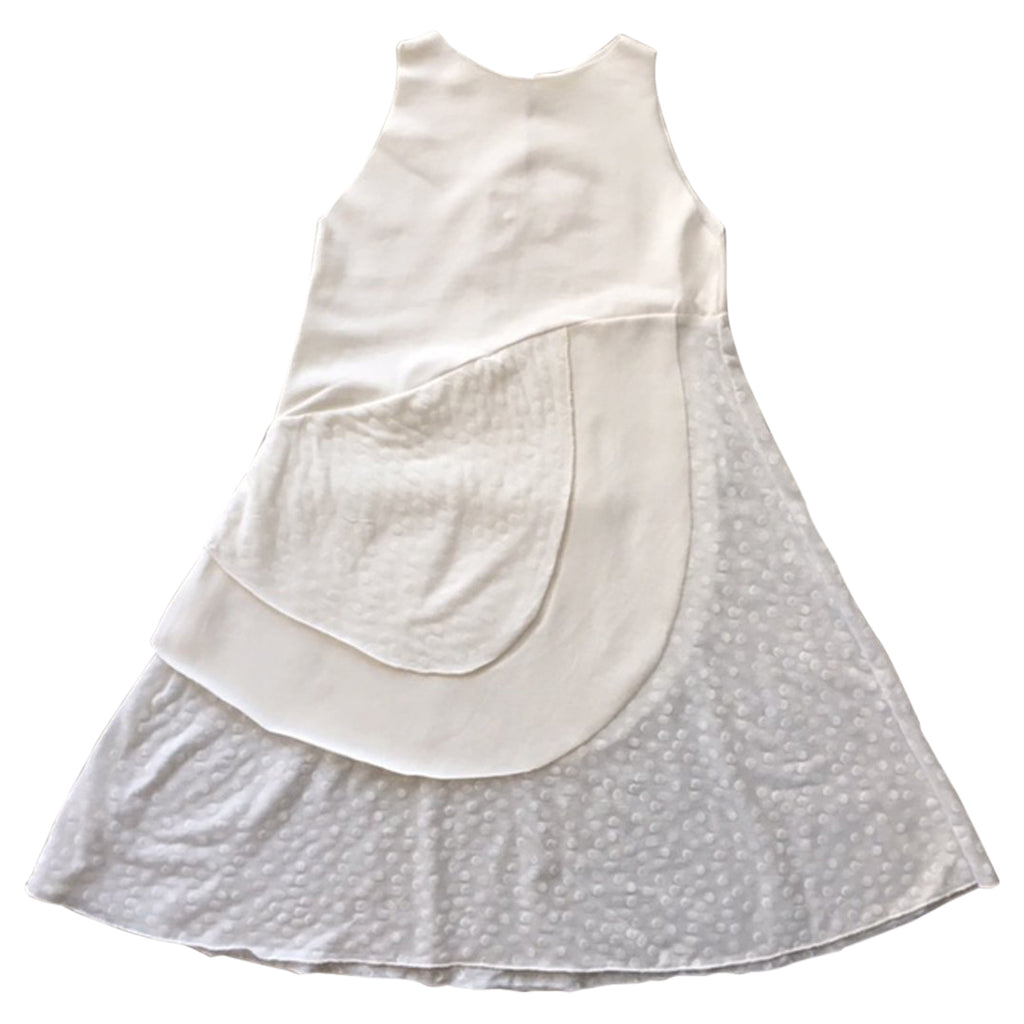 White summer dress in cotton by Gayalab