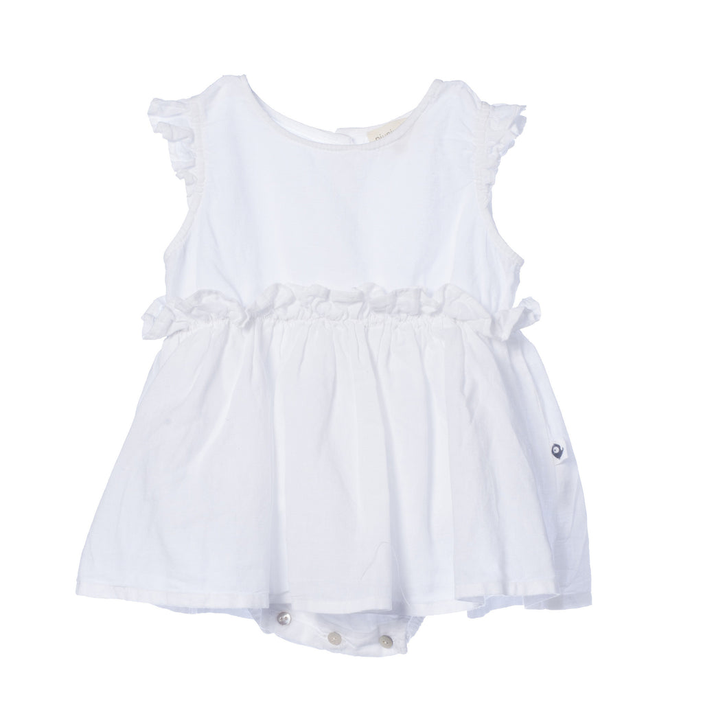 baby girl white body dress by piupiuchick