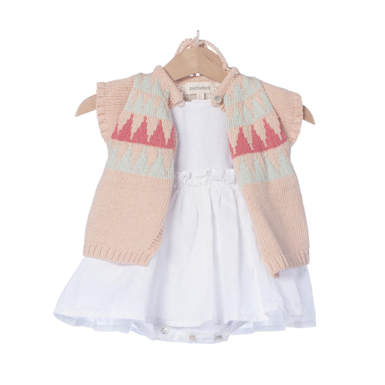 Baby girl knitted vest – HelloDreamers