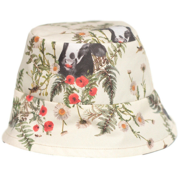 Reversible Hat Bull Prints