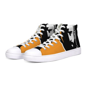 In Shadows Hightop Canvas Shoe