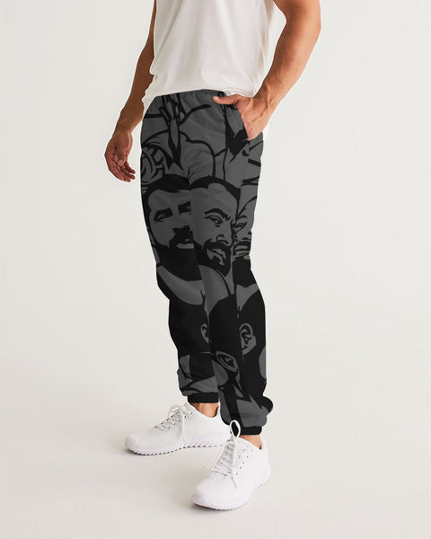 Simply Masculine Gray Men's Track Pants