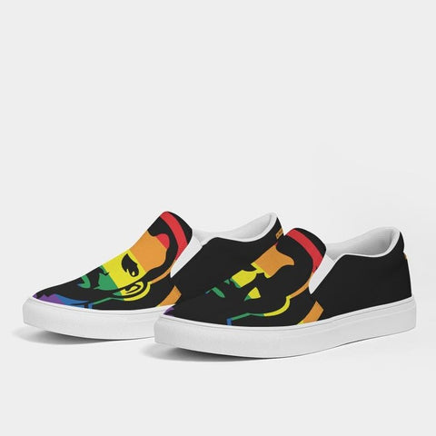 Pride Men's Slip-On Canvas Shoe