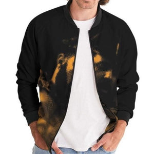 Leather Series 7 Men's Bomber Jacket