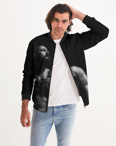Leather Series 5 Men's Bomber Jacket
