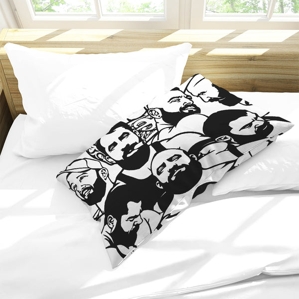 Simply Masculine Queen Pillow Cases