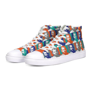 Men of colors Hightop Canvas Shoe