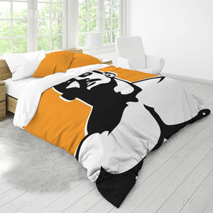 Stache Queen Duvet Cover Set