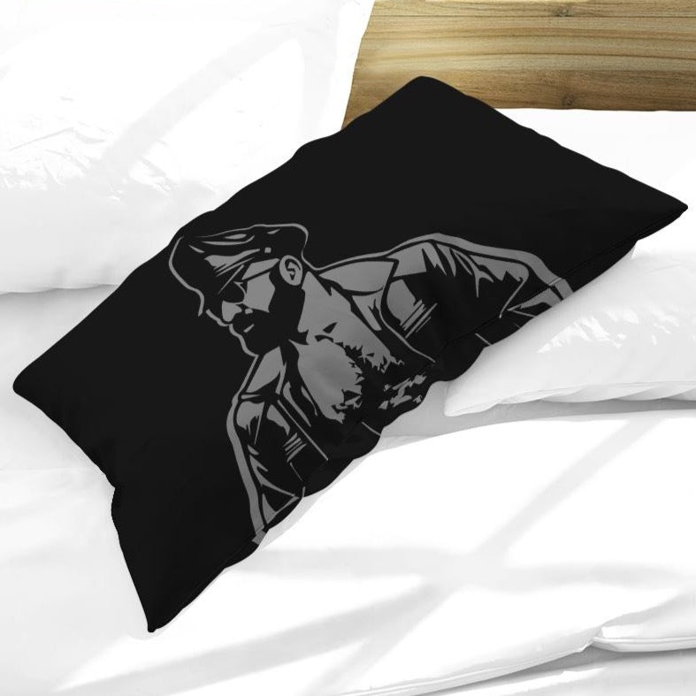 Leather Dad King Pillow Case