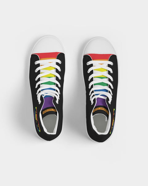 Pride Men's Hightop Canvas Shoe