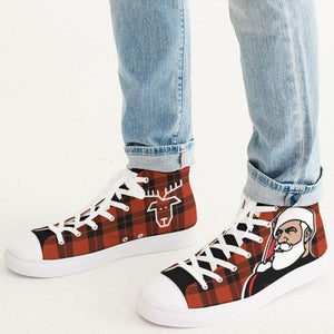 Santa 2020 Men's Hightop Canvas Shoe