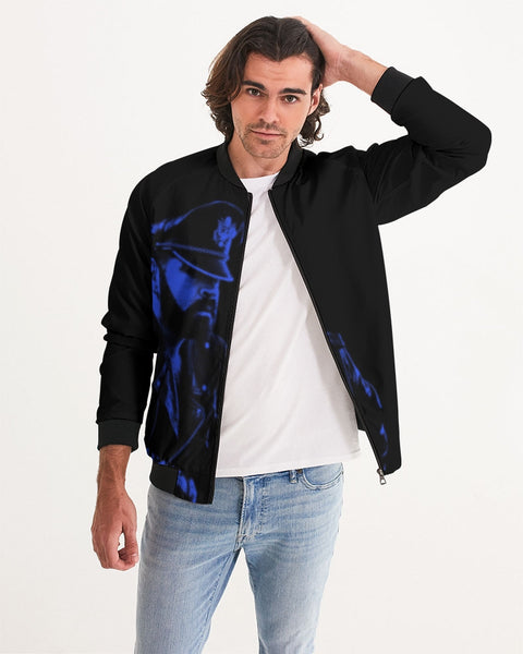 Leather Series 4 Men's Bomber Jacket